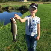 Another happy young angler!